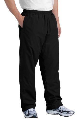 NEW Sport-Tek - Wind Pant. PST74 (Black / M) - Nylon Athletic Pants