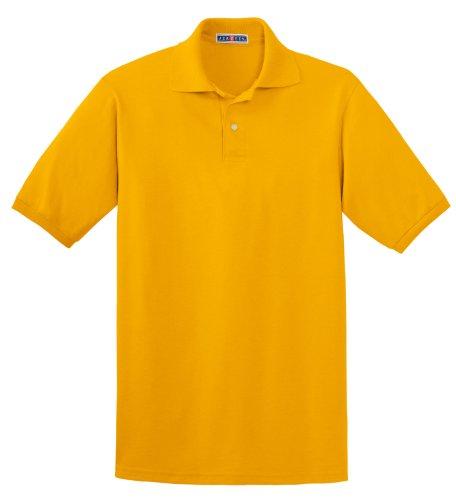 Jerzees Herren Poloshirt gold Small