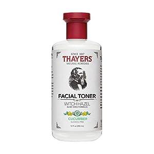 Thayers Alcohol-Free Cucumber Witch Hazel Facial Toner with Aloe Vera Formula – 12 oz