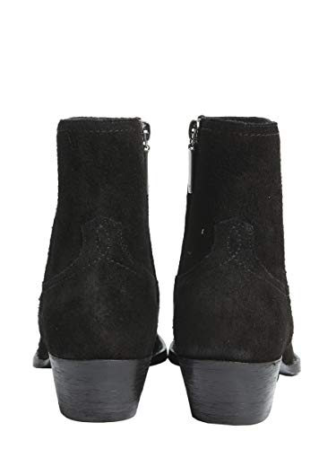 Saint Laurent Ankle Women's 5328600nw001000 Leather Boots Black rpwf8rqAd