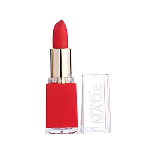 AmyDong Long-lasting Matte Lipstick, Multi Colored featuring full-pigment lip color with a smooth, Moisturizing finish in 12 shades