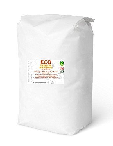 ECO Tierra de diatomeas Molida 25kg - Producto 100% Natural y ecológico - Grado alimenticio