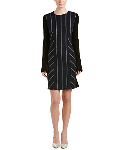 10-crosby-womens-derek-lam-rib-paneled-sheath-dress-2-blue