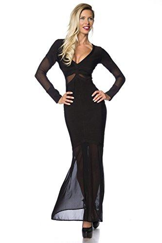 Luxury Donna Good amp; Vestito Nero Dessous 6qO8zgw