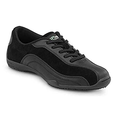 SR Max Malibu Women's Black Slip Resistant Sneaker | Fashion Sneakers