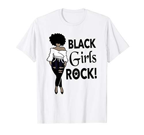 Black Girl Rock Gift Birthday Funny T Shirt