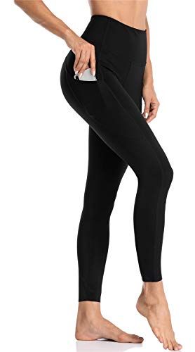 Charmo Damen Sporthosen Hohe Taille Yogahosen Lange Sport Leggings
