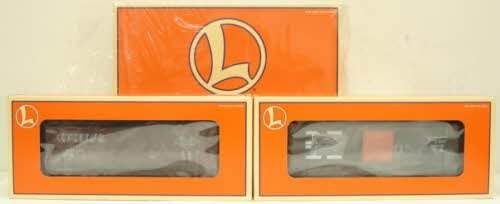 Conrail Boxcar - Lionel 6-29286 Overstamped Conrail/Reading & PC/NH Boxcars 2-Car Set by Lionel