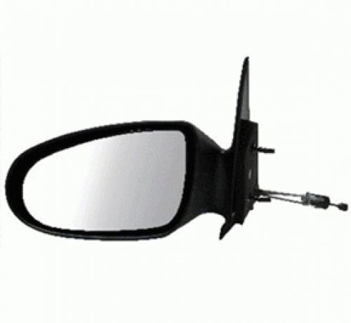 (Discount Starter and Alternator 1712L Replacement Mirror Fits Dodge Neon Driver Side Manual Remote Non-Folding)