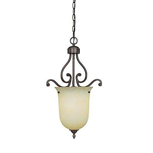 - Millennium Lighting 1011 Courtney Lakes 1 Light Urn Pendant, Rubbed Bronze