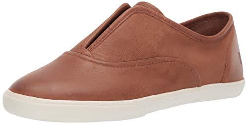 FRYE Women's Mindy Slip On Sneaker Cognac