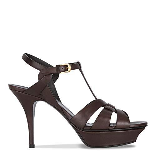 Women's Laurent Leather Saint Brown 457755bda006023 Sandals qpCWxw