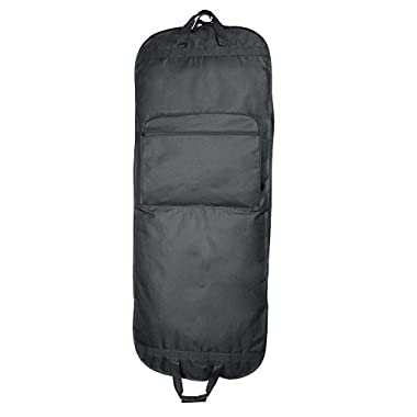 DALIX 60  Professional Garment Bag Cover for Suits Pants and Gowns Dresses (Foldable)