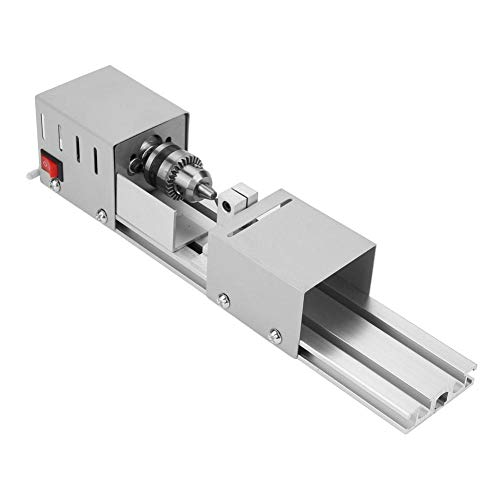 Rotary CNC Beads Polishing Machine, Grinding Lathe, DC 24V Jewelry DIY Enthusiasts for DIY Tool Lathe for Table Woodworking Wood