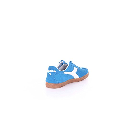 Diadora Baskets Tokio Homme en Peau Retournée Azur - Code Modèle: 501 172302 01 60085 Tokyo Azzurro Bleu 5ts7x