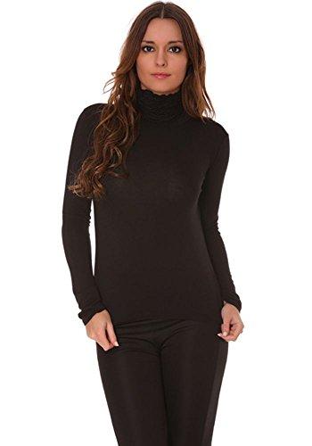 femme dmarkevous noir Sous pull Sous dmarkevous B0x8qp70