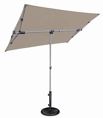 SimplyShade Capri Patio Umbrella in Stone (Shade Umbrella Simply)