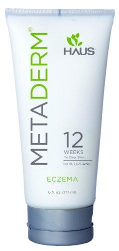 MetaDerm organique Eczéma Crème Hydratante ~ Éprouvé en clinique pour nourrir la peau pour rétablir la santé de la peau dans 85% des utilisateurs (6 oz).