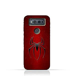 LG V20 TPU Silicone Protective Case with Spider Man Logo Design