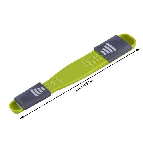 Lynn025Keats Doppia End Otto Bancarelle Scala Regolabile dosatore di misurazione Cucchiaio