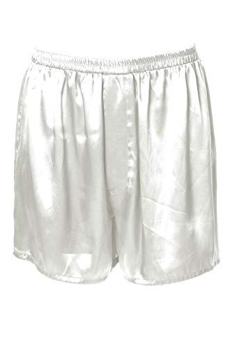 (Vx Intimate Men's Satin Boxer Short # 8025 (L,)