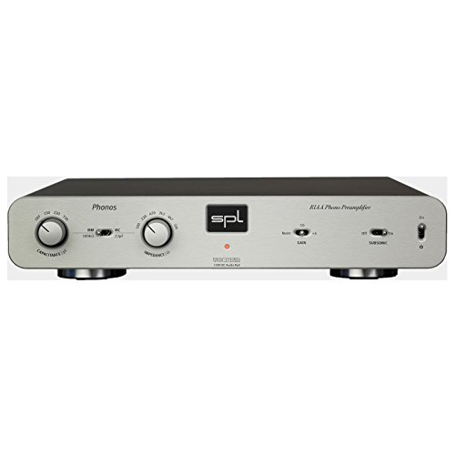 SPL Phonos ProFi MM/MC Adjustable Phono Preamp (Silver) by SPL