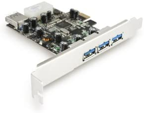 Vantec 4-Port SuperSpeed USB 3.0 PCIe Host Card (UGT-PC341)