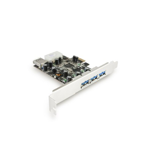 Vantec 4-port Superspeed ¿¿usb 3.0 Pcie Host Card (ugt-pc341)