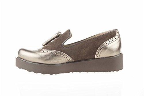 Lince Chaussure Brown Peau BORLAS Shoes qe8dPbgPJ