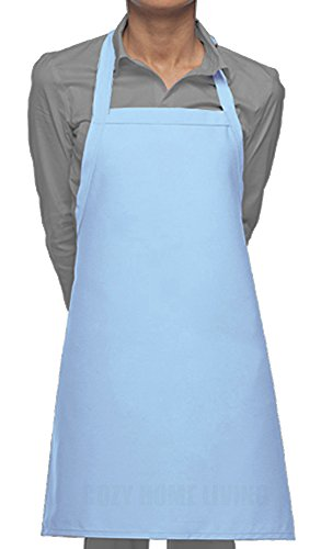 Cozy Home Living Vinyl Waterproof Apron Ultra Lightweight (1, Sky Blue) by Cozy Home Living
