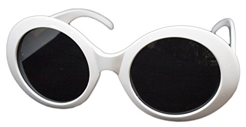 Forum Novelties 62257 Mod Tinted Glasses, White (Halloween Costumes For Work Groups)