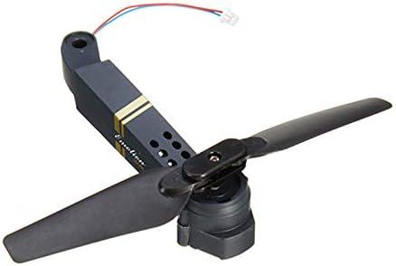 Faironly E58 RC Quadcopter Pi/èce de rechange Axis Arms avec moteur et h/élice pour fPV Racing Drone Frame Parts