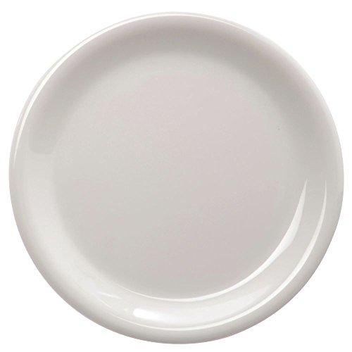Carlisle 3300442 Sierrus Dinner Plate - Narrow Rim 9'' - Bone (24 PER CASE)