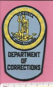 (Virginia VA State Dept of Corrections DOC Law Enf. Trooper Police Shoulder Patch by HighQ Store)