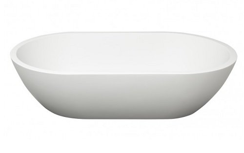 Barclay 7-560WH Celina Oval Resin Above counter Basin White,
