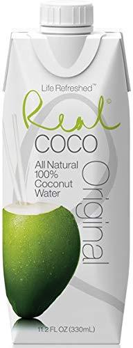 Real Coco- 100% natuurlijk kokoswater (12x330ml)