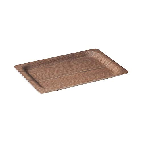 (KINTO Tray SCS 315 × 195 mm Walnut 27653 Natural Wood Plywood from JAPAN)