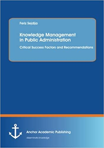 knowledge management in public administration critical success