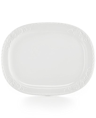 Martha Stewart Embossed Pumpkin Platter (Turkey Platter)