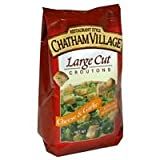 Chatham Village Cheese and Garlic Crouton, 5 Ounce - 12 per case.
