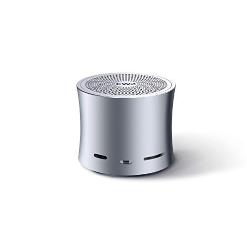 Ewa Ewa 4344516646 Mini Portable Wireless Metal Bluetooth Speaker (Gray)