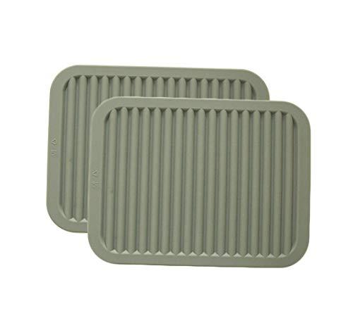 TIAMALL Silicone Pot Holder Trivet Mat Baking Gadget Kitchen Table Mat Waterproof Heat Insulation Non-Slip Trivet Tableware Pad Coasters(9