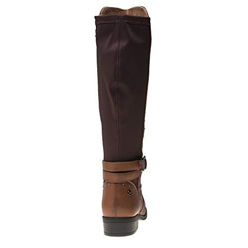 Xti Boots Xti Fauve 48443 Femme 48443 Boots Femme BqHrB