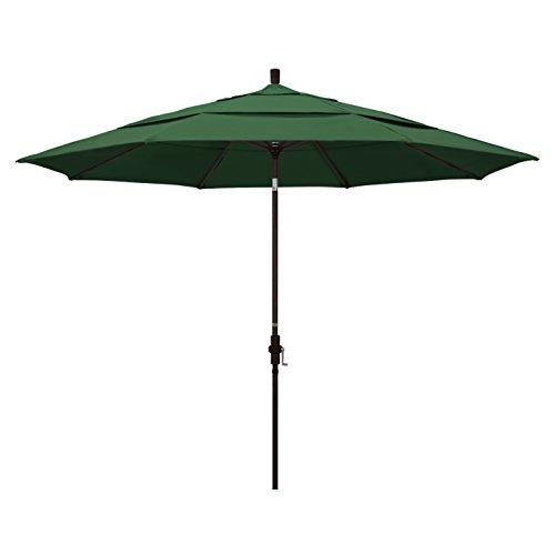 California Umbrella 11′ Round Aluminum Market Umbrella, Crank Lift, Collar Tilt Review