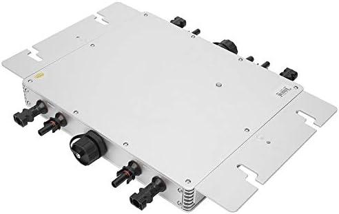 Solar Wechselrichter,Grid-tie Inverter WVC1200 PLUS 1200W IP65 wasserdichter Solarstrom-Konverter Grid-Tie Micro Inverter 22-60V Sinus Miniatur Wechselrichter,50/60 Hz,Push-Pull Wechselrichter(230V)