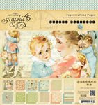 Graphic 45 Little Darlings 8 by 8-Inch Paper Pads (Lullaby Double Sided Paper)