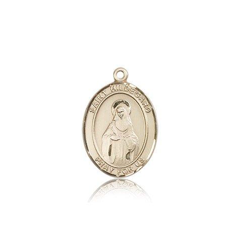 14 ktゴールドSt。Hildegard Von Bingen Medal   B008JL4VHA