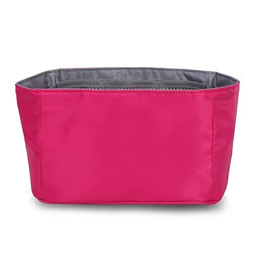 Cosmetic Organizador Trazador Del Mujer Para color Beige Ddoq Rose Red Pocket Travel Líneas Mano Tidy De Roja Rosa Bolso n8YcqRqwP