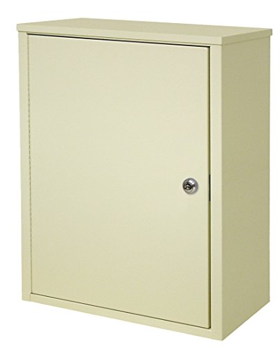 Single Door Extra Wide Wall Storage Cabinet with Key Lock