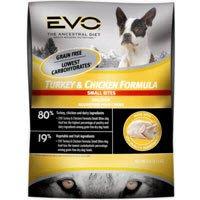EVO Turkey & Chicken Small Bite Dog Food - 6.6 lb